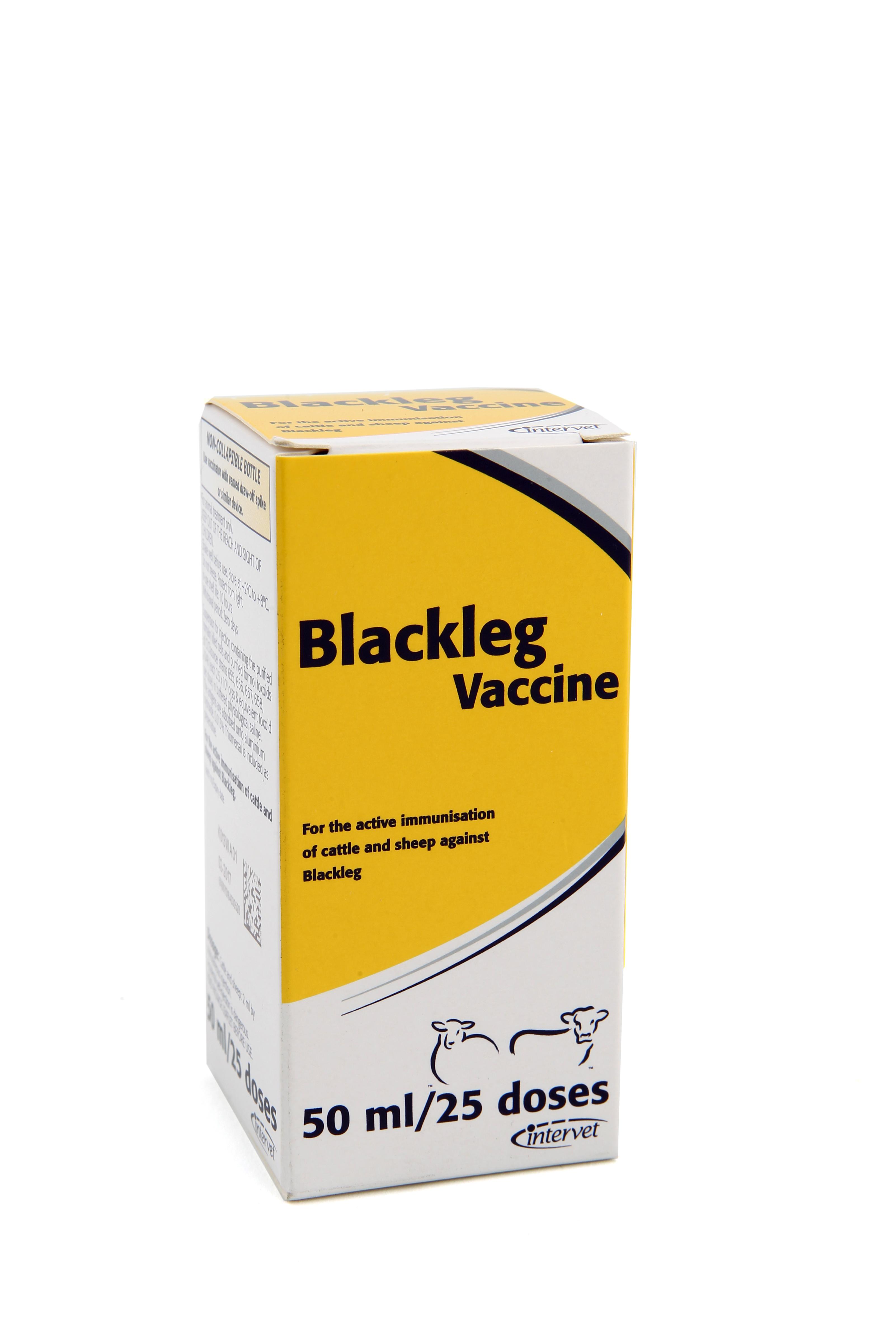 Blackleg Vaccine 50Ml Intervet