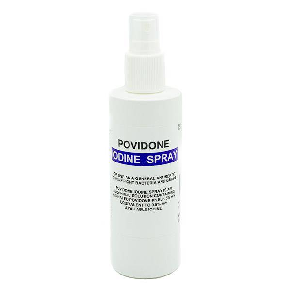 Iodine Spray (Povidone) 200Mls
