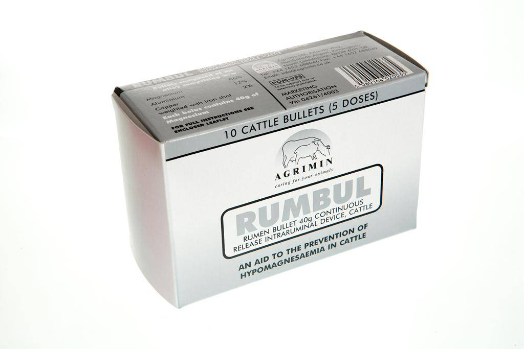 Rumbul Cattle Bullets 10S
