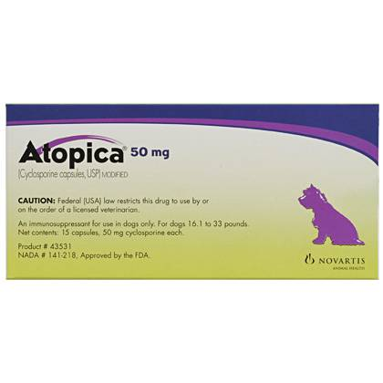 Atopica 50Mg (15 Capsules)