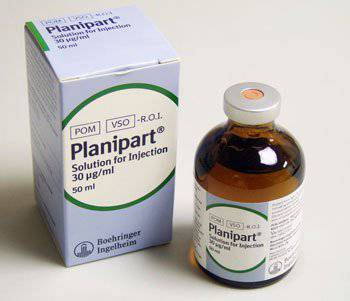 Planipart 30 Microgram/ML  Sol for Inj.50Mls