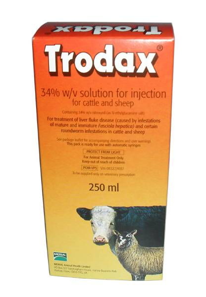Trodax Cattle 250Ml