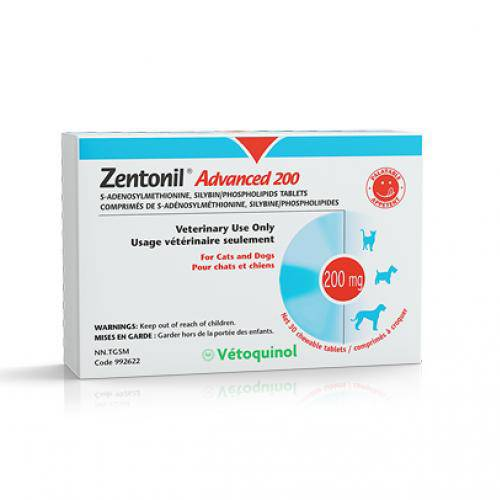 Zentonil Advanced 200Mgx30Tabs.