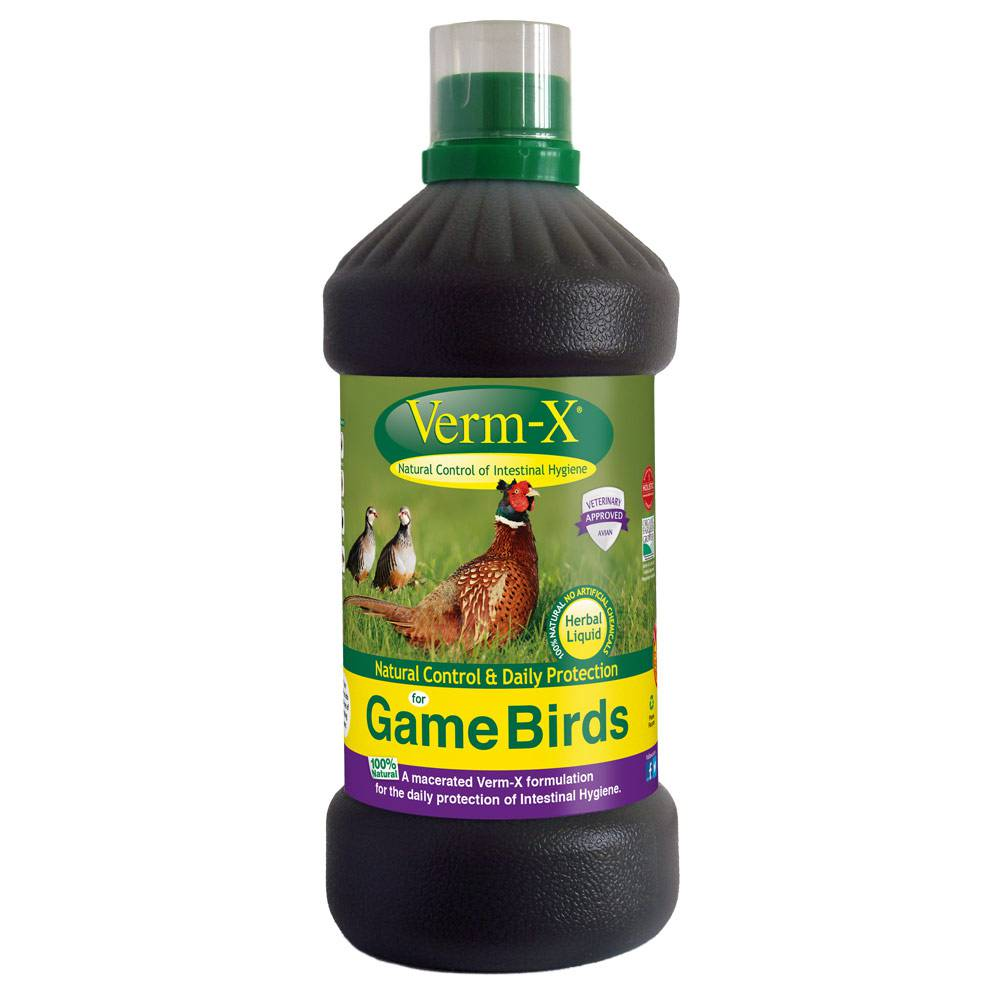 Verm X Gamebird Liquid 1Lt
