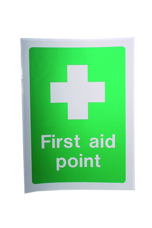 First Aid Point Sign - Stick On