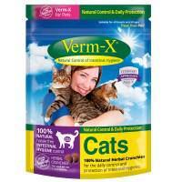 Verm X Cat Treats 120Gm