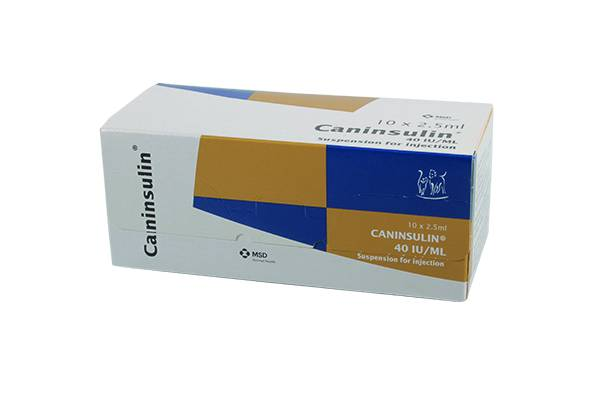 Caninsulin 10 X 2.5Ml