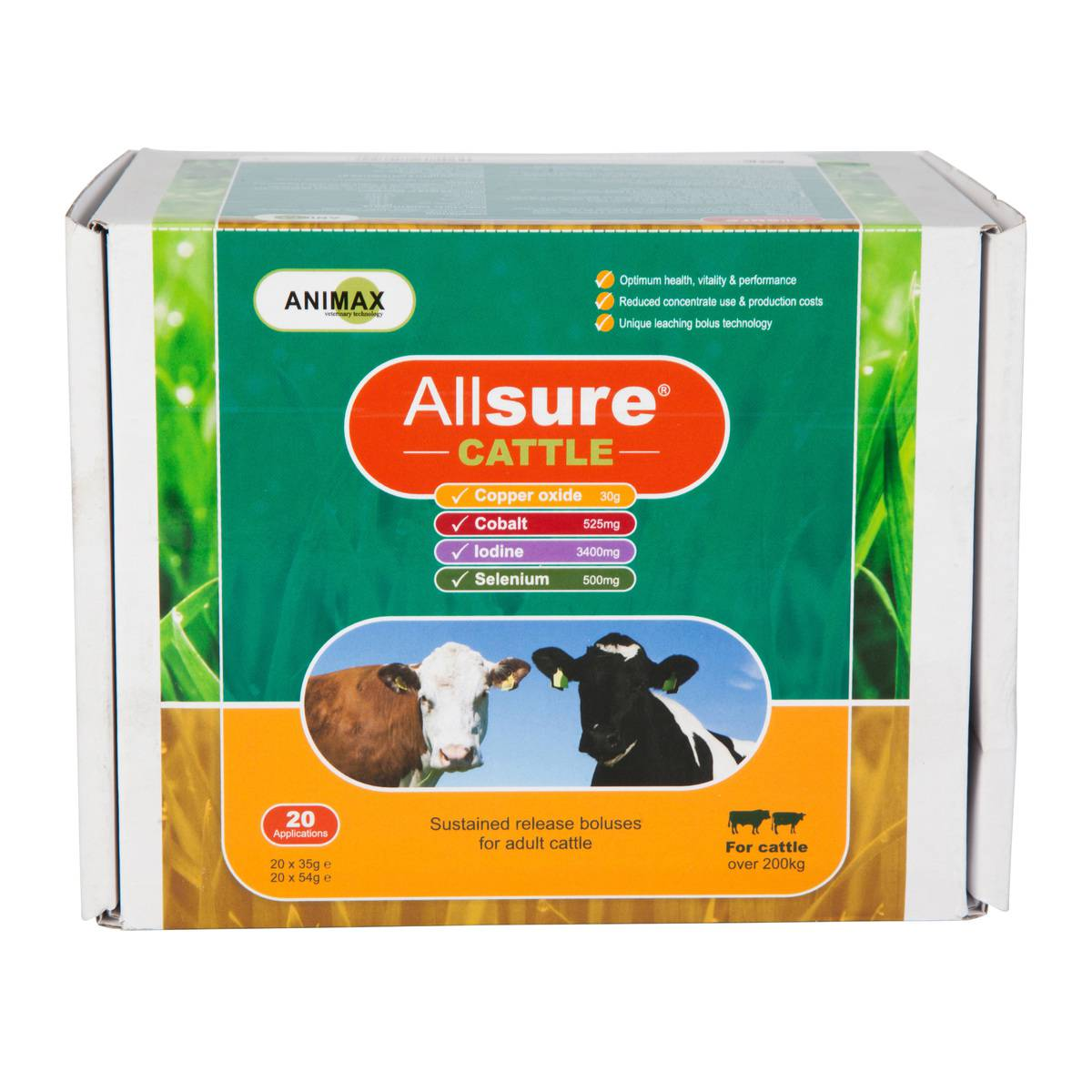 Animax Allsure Cattle 20's