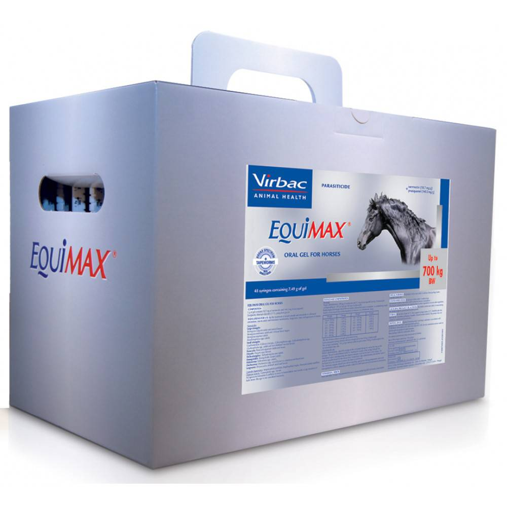 Equimax  Oral Gel Yard Pack 48s