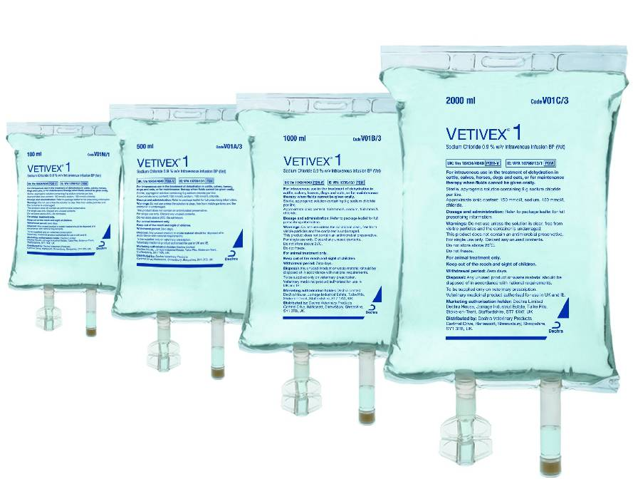Vetivex 1(Isotonic Saline)50X100Ml Bag