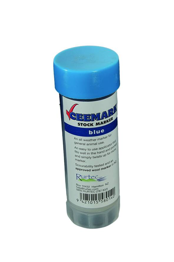 Ceemark Marking Stick Blue 70g (Twist Up)