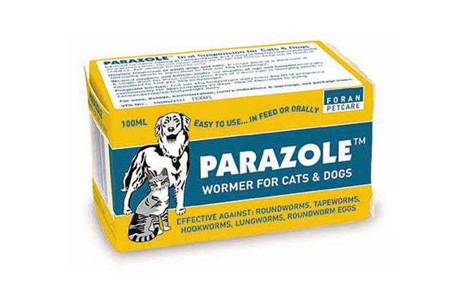 Parazole Dog/Cat Wormer 100Mls