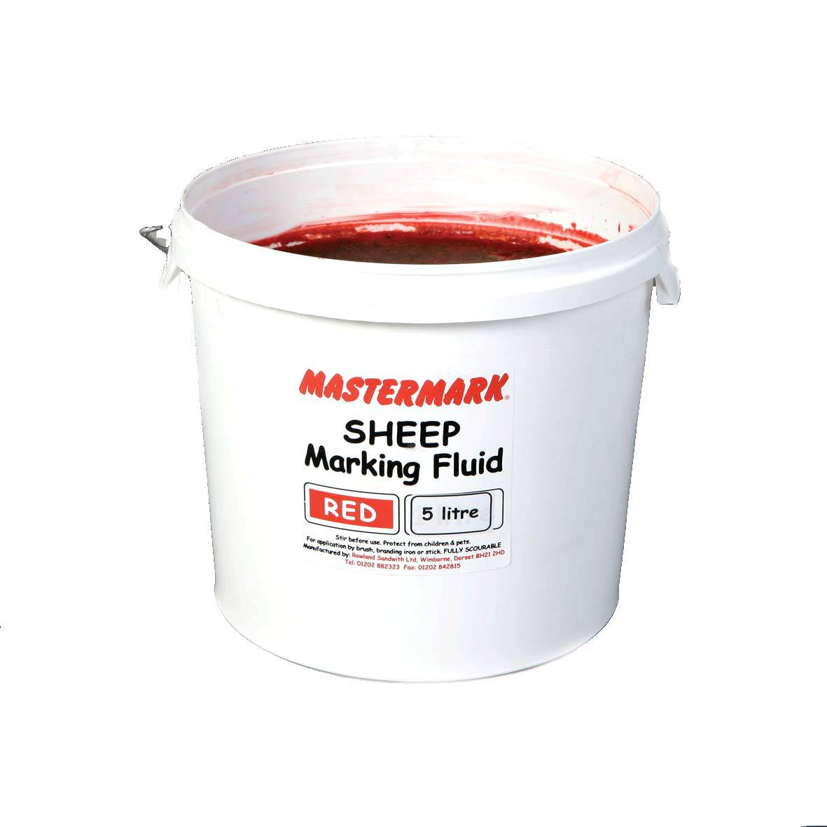 Marking Fluid Master Mark Red 5l