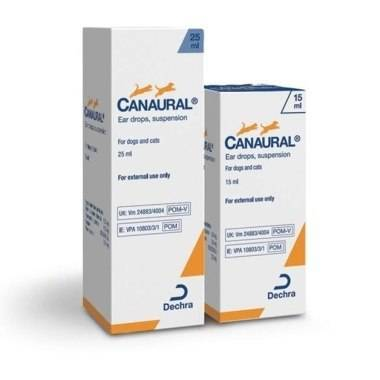 Canaural Ear Drops 15Mls