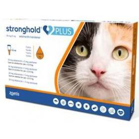 Stronghold Plus Med. Cat 0.5ml Pk. 3