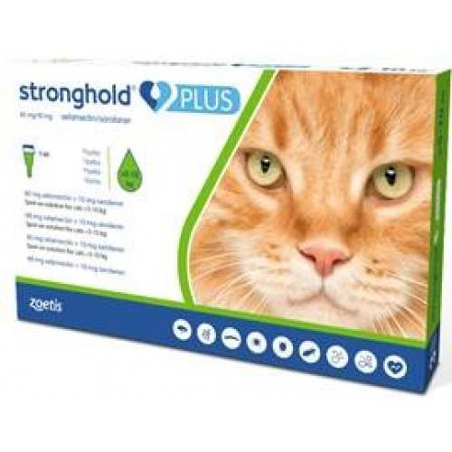 Stronghold Plus Lrg. Cat 1.0ml Pk. 3