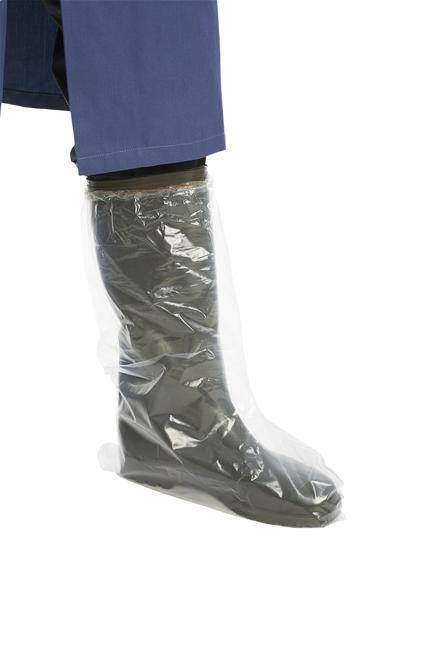 Overboots Disposable H/Duty (25 pair)  elasticated top