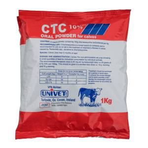 CTC 10% w/w Oral Powder for Calves 1Kg