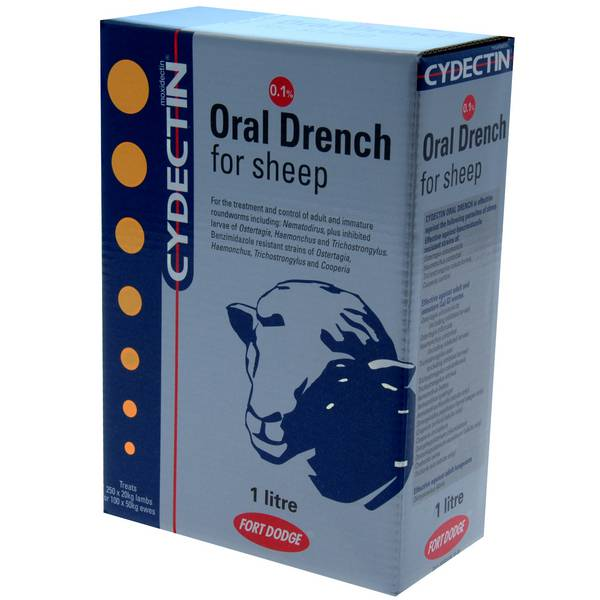 Cydectin Sheep Drench 1.0Ltr