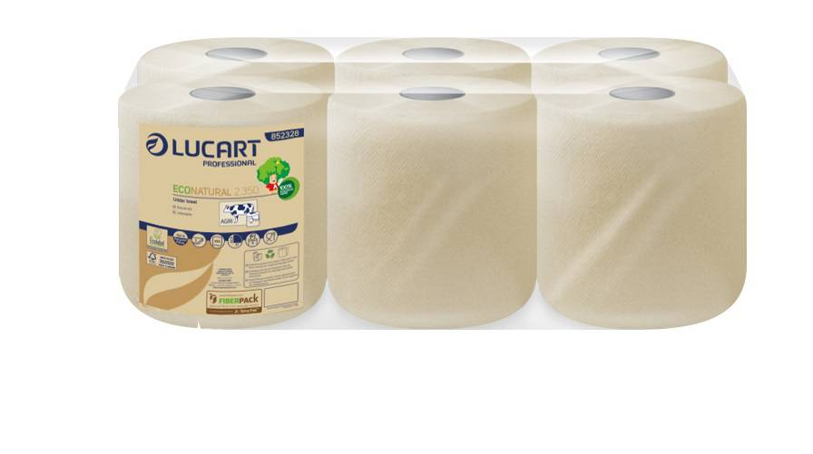 Dairy Wipes Eco Natural 2Ply  6 rolls x 130 Mtr.