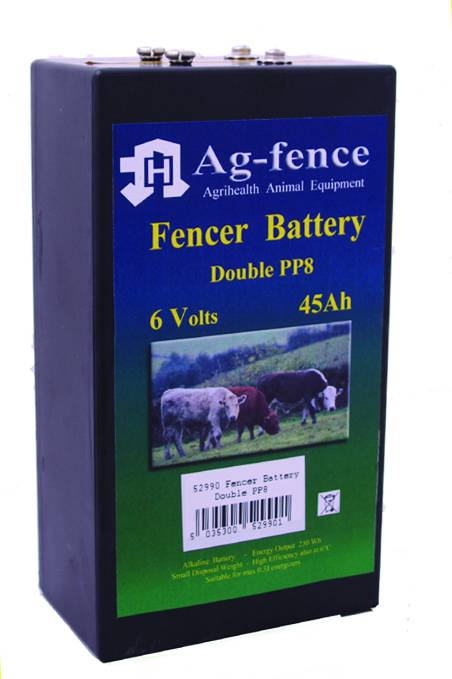 Fenceman Battery Double PP8 Alkaline