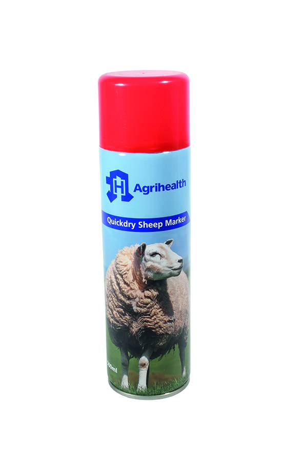 Sheep Spray Marker Agrihealth 500ml Red