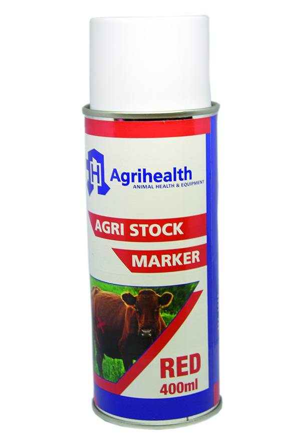 Stock Spray Marker Agrihealth 400ml Red