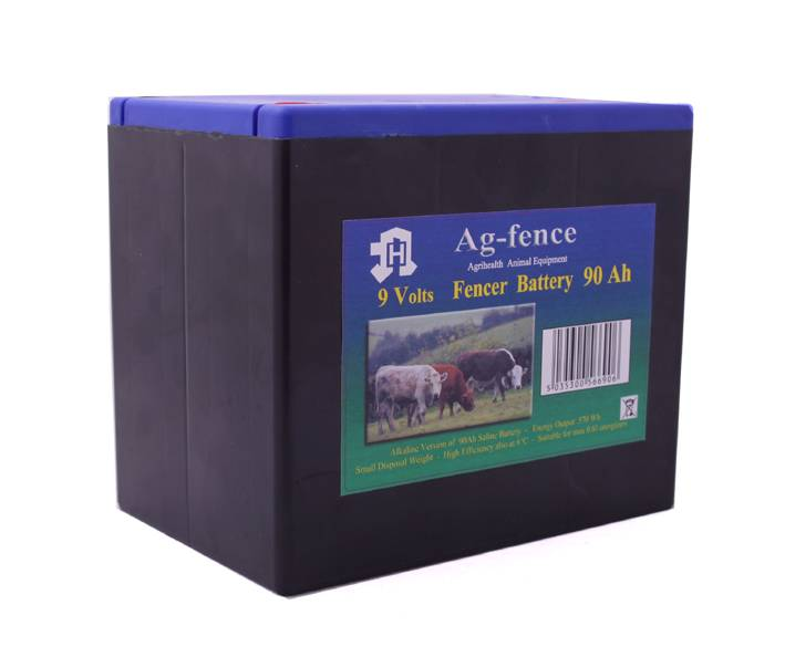 Fenceman Battery 9V 90Ah Alkaline