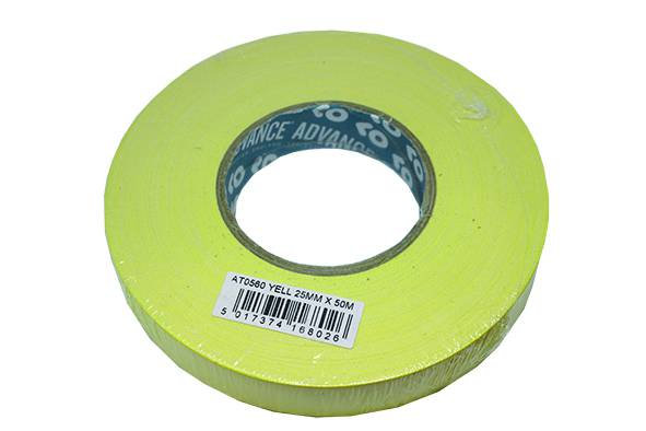 Tail Tape Advance Yellow 25mmx50m