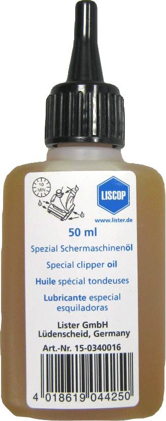 Liscop Clipper Oil (Sae 30) 60ml