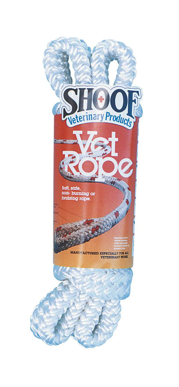 Vet Rope 2.5m White Shoof