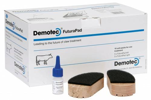 Demotec Futurapad 10 Hoof Pack