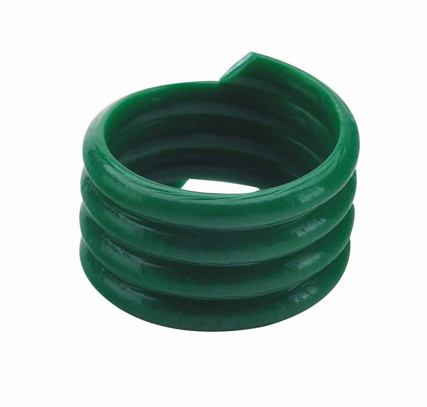 Poultry Leg Rings Green (20)