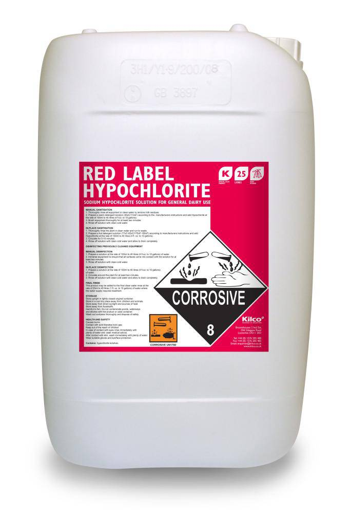 Prolac Red Label Hypochloride 25Lt