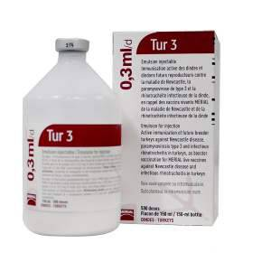 Tur-3 Turkey Vaccine 500 Dose - Vm 08327/4134 (AR16)