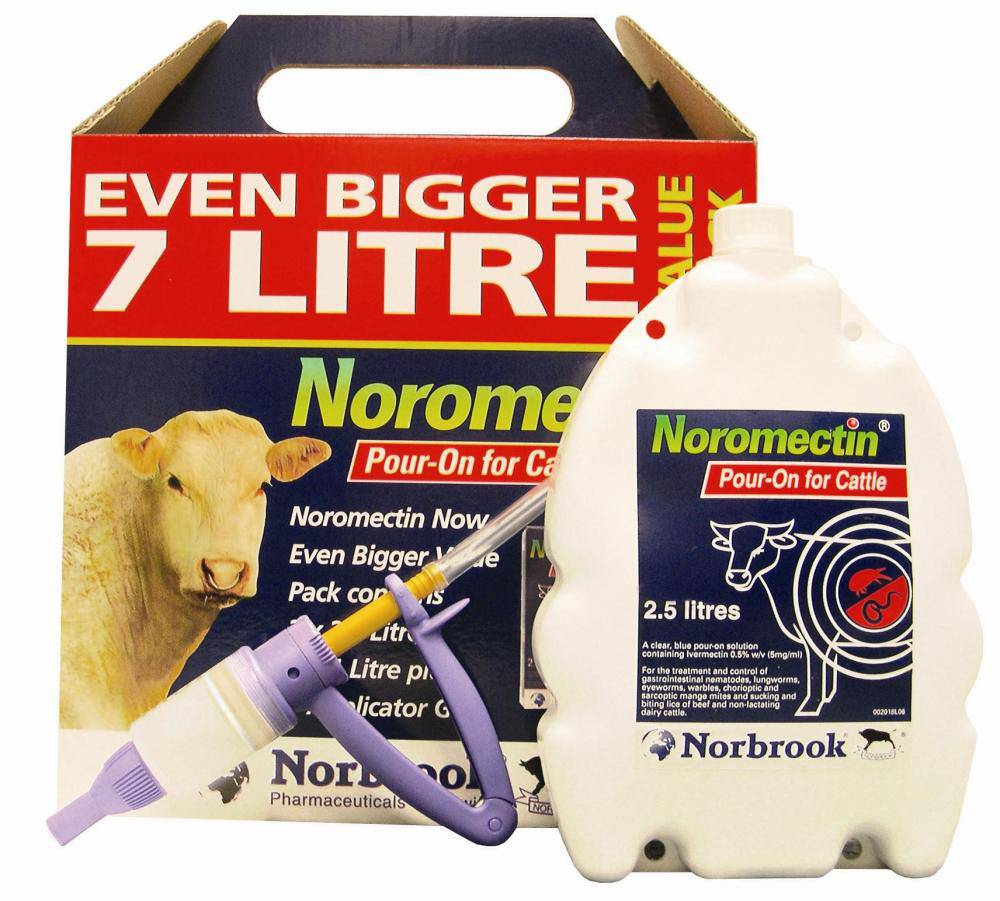 Noromectin Pour-On 7.0Ltr